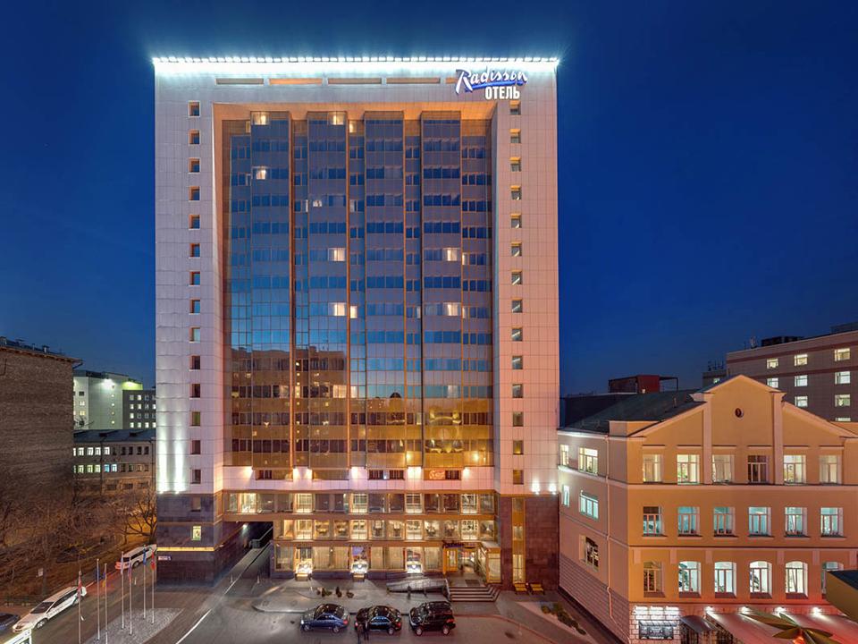 отель Radisson Blu Belorusskaya, Москва