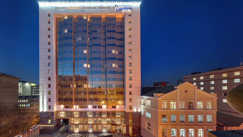 отель Radisson Blu Belorusskaya (Москва)