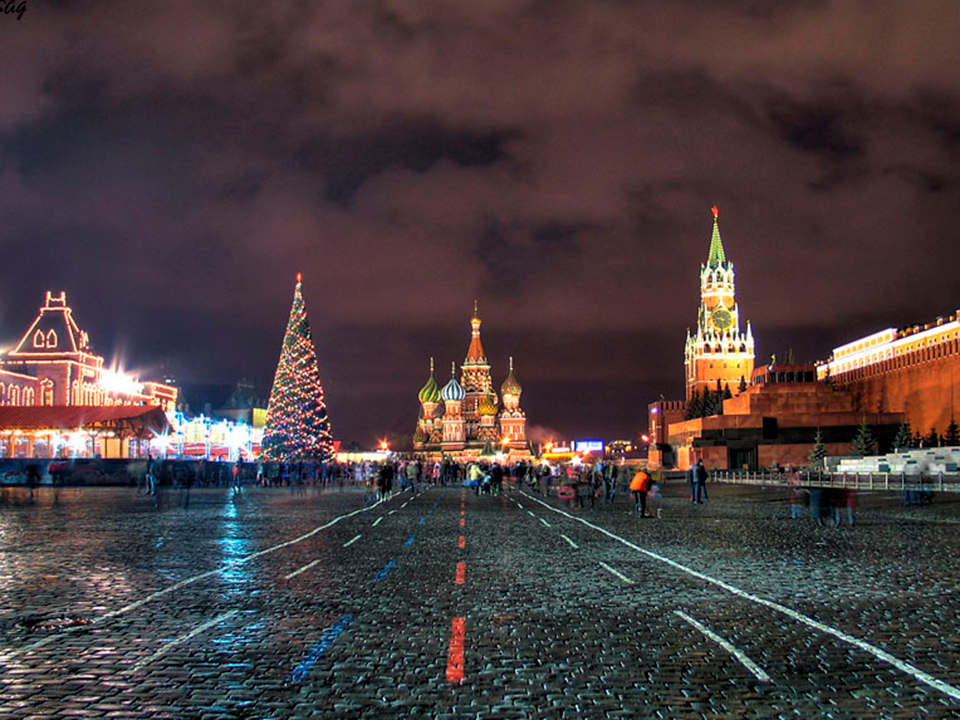 Зимние каникулы в Москве