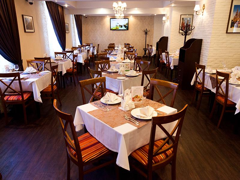 гостиница Максима Заря, ресторан