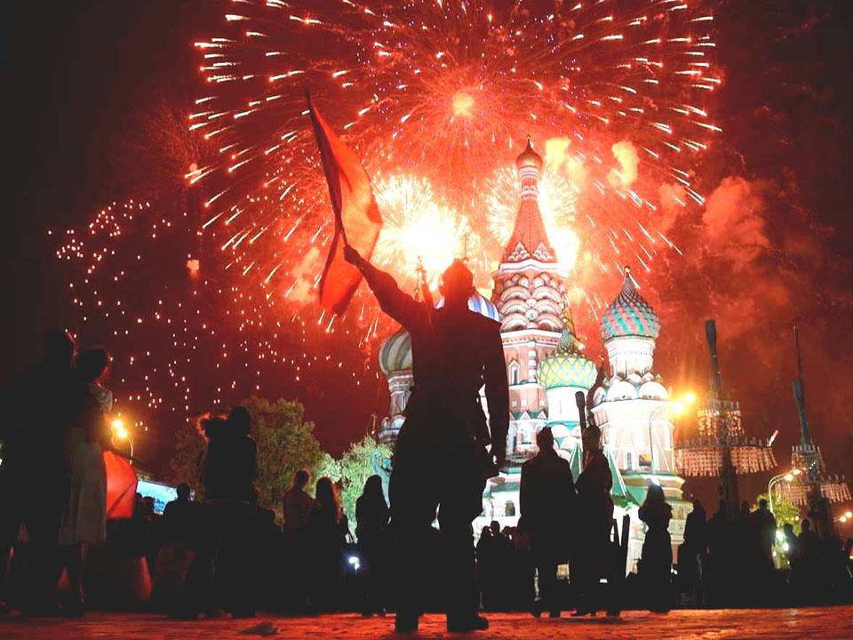 Майские праздники в Москве