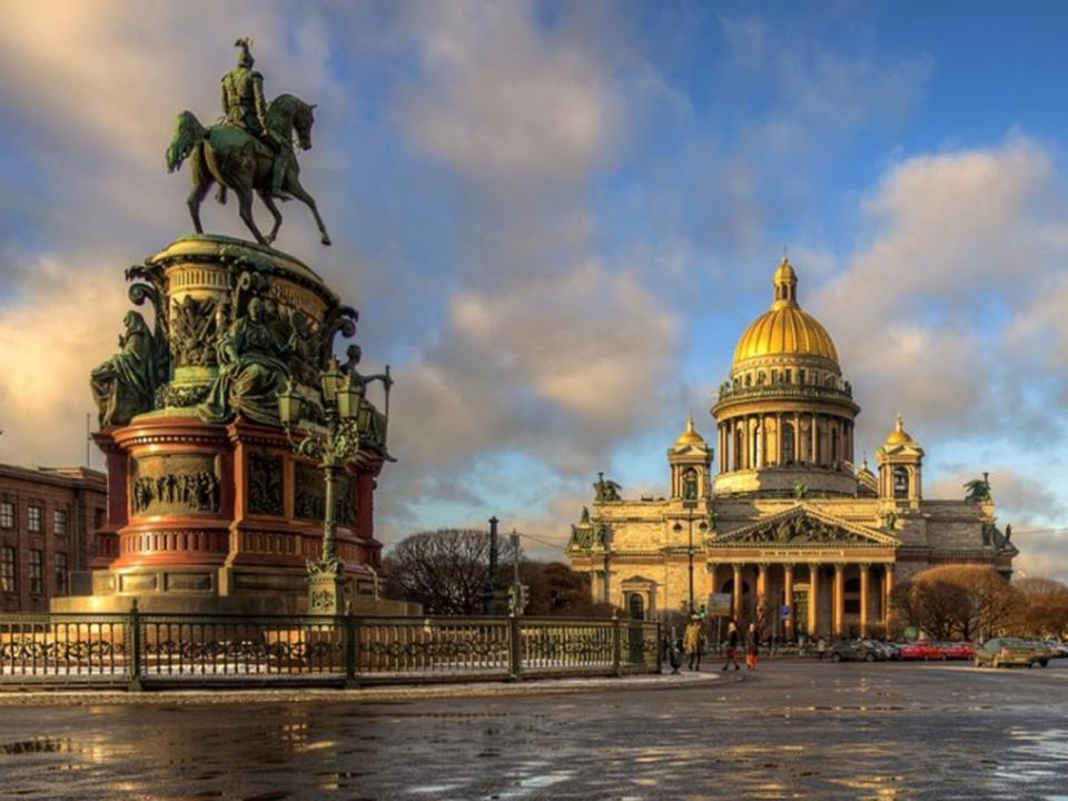 Туры в Москву + Санкт-Петербург