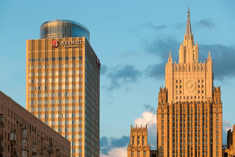 отель Azimut Смоленская, Москва
